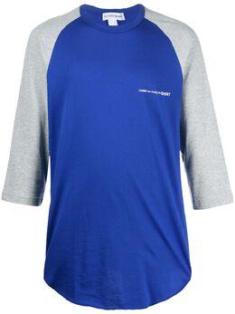 Comme Des Garcons Shirt футболка с рукавами реглан S28120