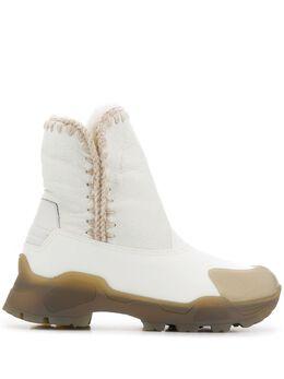 Mou ботинки Eskimo на каблуке FW191001C