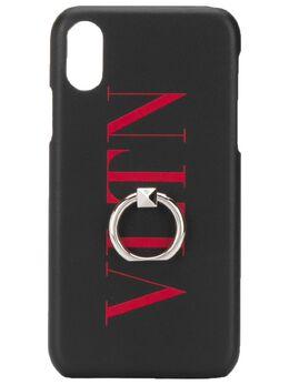 Valentino Garavani чехол для iPhone XS Max с логотипом VLTN TY2P0379FFL