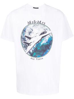 Mr & Mrs Italy футболка с графичным принтом YTS0026