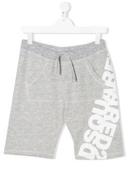 Dsquared2 Kids спортивные шорты с логотипом DQ0432TD00MU