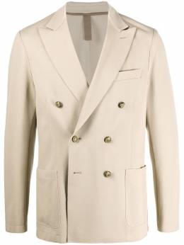 Eleventy двубортный пиджак с декорированными пуговицами A70GIAA02JAC25001