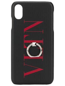 Valentino чехол для iPhone XS Max с логотипом VLTN TY2P0Q89FFL