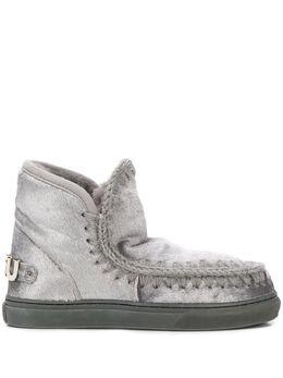 Mou ботинки Eskimo с эффектом металлик FW111009D