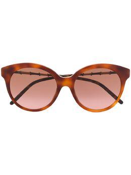 Gucci Eyewear солнцезащитные очки в круглой оправе GG0653S002