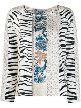 Pierre-louis Mascia блузка с принтом ALOEUWSWCML10061