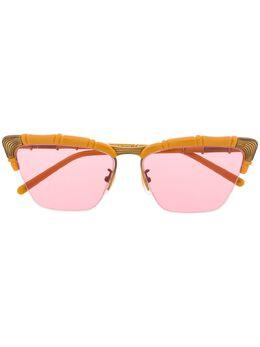 Gucci Eyewear солнцезащитные очки в оправе 'кошачий глаз' GG0660S003