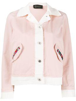 Mr & Mrs Italy укороченная куртка с накладными карманами XJK0135