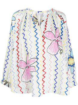 Mira Mikati блузка с принтом TOP032SS20