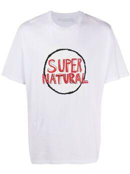 Neil Barrett футболка с принтом PBJT708SN562S