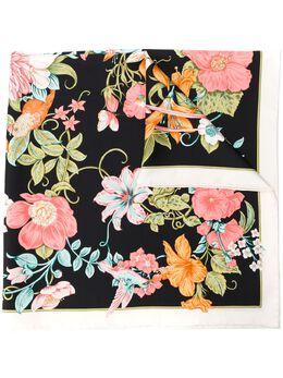 Salvatore Ferragamo платок с цветочным принтом 727052