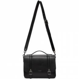 Saint Laurent Black Medium Lauren School Bag 591542 1N20D