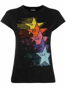Just Cavalli декорированная футболка S04GC0380N21463