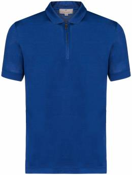 Canali рубашка-поло на молнии MJ00874T0553