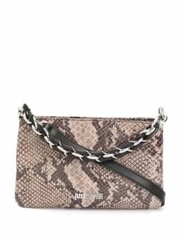 Just Cavalli мини-сумка с тиснением под змеиную кожу S11WG0201P3088