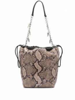 Just Cavalli сумка на плечо с тиснением под змеиную кожу S11WG0192P3088