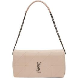 Saint Laurent Pink Medium Jamie Bag 605026 COP64
