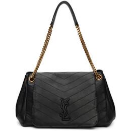 Saint Laurent Black Medium Nolita Bag 589299 1PO07