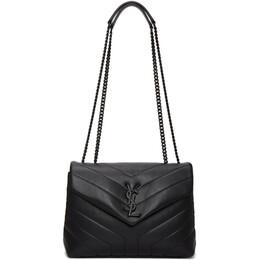 Saint Laurent Black Small Loulou Monogram Bag 494699 DV728