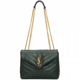 Saint Laurent Green Small Loulou Bag 494699 DV721