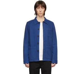 Nudie Jeans Blue Barney Jacket 160676
