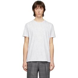 Etro White Paisley T-Shirt 1y020 9245