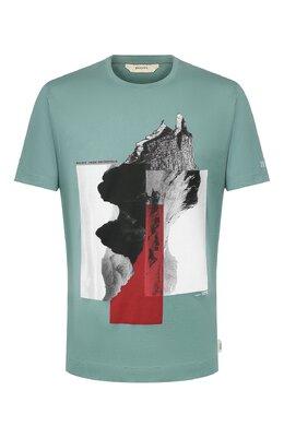 Хлопковая футболка Z Zegna VU372/ZZ630X