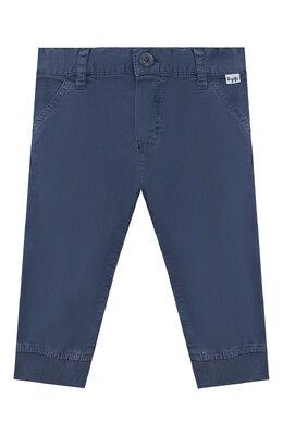Хлопковые брюки Il Gufo P20PL050C6002/3M-9M