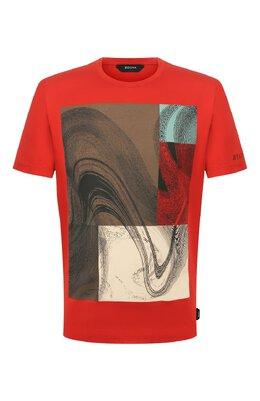 Хлопковая футболка Z Zegna VU372/ZZ630W