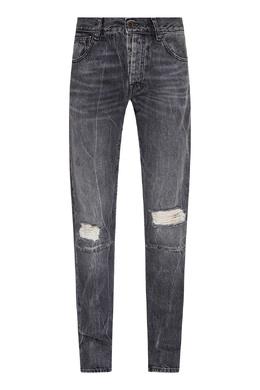 Черные винтажные джинсы скинни Unravel Project 2852187462