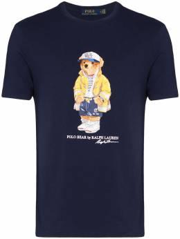 Polo Ralph Lauren футболка с принтом Teddy 710795737