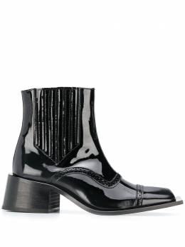 Martine Rose ботинки на каблуке FMROWTON109017