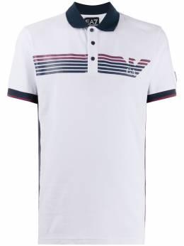 Ea7 рубашка-поло с логотипом 3HPF13PJ61Z