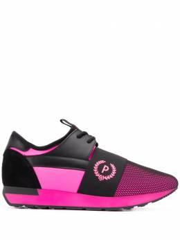 Pollini кроссовки со вставками SA15063G1AT1