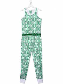 Stella McCartney Kids комбинезон с принтом Stella 588649SOJ69