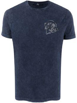 Fay футболка с логотипом NPMB340136TROZU809