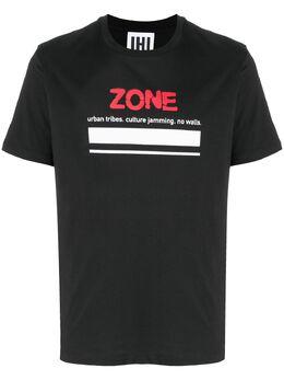 Les Hommes Urban футболка с надписью UIT214700P