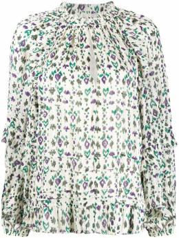 Isabel Marant Etoile блузка с абстрактным принтом HT170320P040E