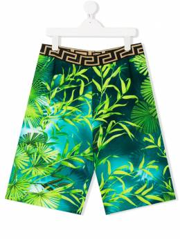 Young Versace шорты с принтом YD000305A235480