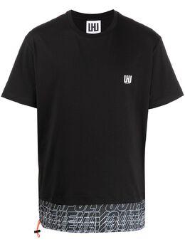 Les Hommes Urban многослойная футболка с круглым вырезом UIT151700B