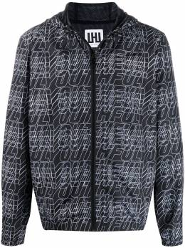 Les Hommes Urban куртка с монограммой UIO106250P