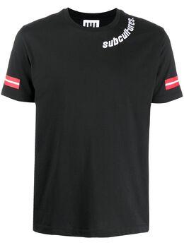 Les Hommes Urban футболка с вышивкой Subcultures UIT209700P