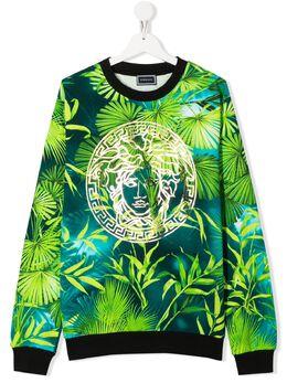 Young Versace толстовка с логотипом YD000304A235480
