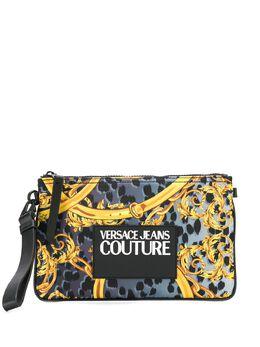 Versace Jeans Couture клатч с принтом Barocco E3YVBP2071427