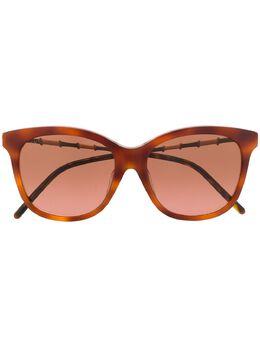 Gucci Eyewear солнцезащитные очки в квадратной оправе GG0655SA003