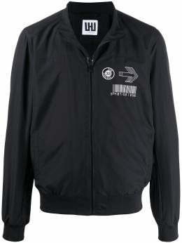 Les Hommes Urban куртка-бомбер с принтом UIO104250P