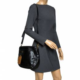 Chloe Black Leather Eden Crossbody Bag