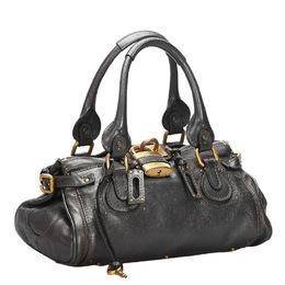 Chloe Black Leather Paddington Bag