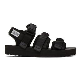 Suicoke Black GGA-V Sandals OG-052V