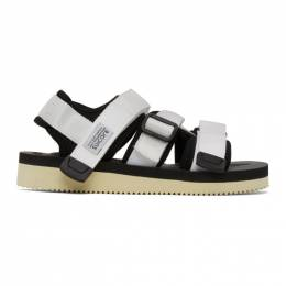 Suicoke White KISEE-V Sandals OG-044V/KISEE-V